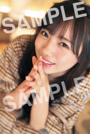 齊藤京子写真集のポストカード